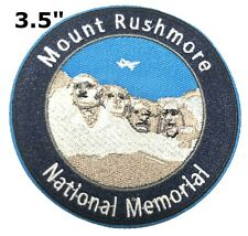 Mount Rushmore National Park Patch Souvenir Travel Embroidered Iron / Sew-on