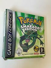 Pokémon: Smaragd-Edition (Nintendo Game Boy Advance, 2005) mit OVP