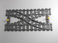 Lego® Eisenbahn City Zubehör 1x doppel Weiche RC