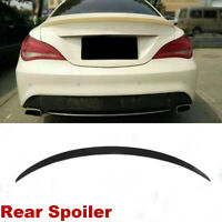 Black Rear Trunk Spoiler Wing Fit For Mercedes Benz W117 C117 CLA45 AMG 14-18