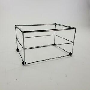 USM INOS Filing Frame for USM Haller Extension Shelf - Complete your Haller Unit