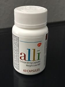 alli orlistat 60mg weight loss aid 60 capsules Exp 7/22