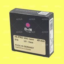 Genuine B+W 49mm XS-PRO Digital MRC nano 010M XSP UV-Haze Filter 1066114