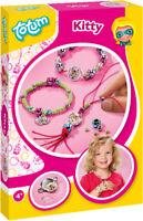 Totum Kitty Kätzchenschmuck Perlenschmuck Perlenbesteln Kinderspielzeug