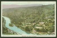 Symonds Yat from the Rocks - Vintage Printed Postcard
