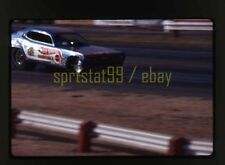 1976 Tom McEwen 'Mongoose II' Funny Car @ Fremont Raceway - Vtg 35mm Race Slide
