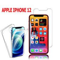 """Hülle Cover Schutz 360° Vorne und Hinten Für Apple IPHONE 12 6.1 """" A2403"""