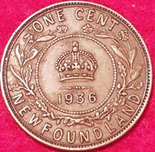 1936 Newfoundland Penny  ID #86-119