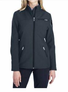 NWT Spyder Womens Softshell Zip Jacket Black Size S MSRP $125 #187337