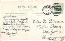 Birdie Brown. 7 Adie Road, The Grove, Hammersmith, London 1905.   JD428