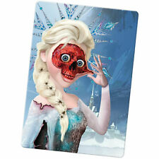 Zombie Princess Fairy Tale Happy Ever After Large Fridge Magnet