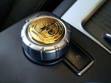 AMG Affalterbach Mercedes-Benz Emblem Multimedia Drehknopf Abzeichen Gold 29 mm