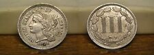 1881 THREE CENT PIECE NICKEL US COIN
