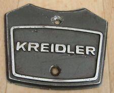 KREIDLER FLORETT K54 TM ORIGINAL EMBLEM FÜR SCHEINWERFER HALTERUNG RS GT LF usw.