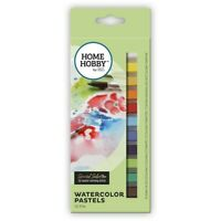 HOMEHOBBY 3L Watercolour Pastels  Artist Drawing Wet Dry 12 Colours