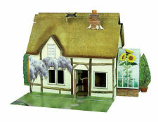 Santoro Pop Up Places 3D Greeting Card - Wisteria Cottage