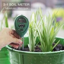 3 in 1 Digital Soil Moisture Meter PH Tester Humidity Analyzer Garden Plants