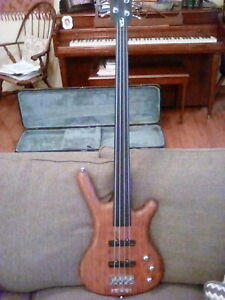 2002 warwick corvette standard fretless bass 4 string vintage made in germany