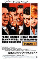 "Ocean's 11 Movie Poster  Replica 13x19"" Photo Print"