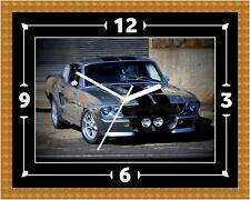 Shelby GT500 1967 Clock Gift Present Christmas Birthday (Can Be Personalised)