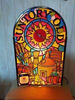 70s Vintage Suntory Old Whisky Bar Display Lamp Sign 125V Promotion Item Japan