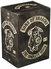 Sons of Anarchy:The Complete Series Seasons 1-7 (DVD, 2015, 30-Disc box Set)