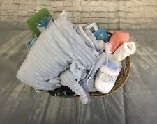 Baby Boy Gift Basket 0-6 Months Perfect Shower Gift Animal Theme New