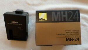 Genuine NIKON MH-24 Charger EN-EL14 P7700 D5500 D3200 D5100 D5200 P7000 P7100