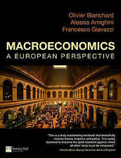 Macroeconomics a European Perspective by Alessia Amighini, Olivier Blanchard, F…