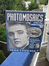 Photomosaics Elvis 1000 Piece Jigsaw Puzzle~Wertheimer Collection~ New & Sealed!