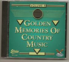 "GOLDEN MEMORIES OF COUNTRY MUSIC, VOL. 5, CD ""VARIOUS ARTISTS"" NEW SEALED"