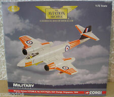 Corgi Gloster Meteor F(TT)Mk.8 No.1574 Flight RAF Changi Singapore Die-Cast 1:72
