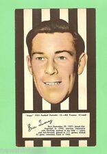 #D83.  COLLINGWOOD BILL  TWOMEY 1953 ARGUS FOOTBALL PORTRAIT MAXI CARD #14