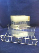 """ONE REPLACEMENT PANEL STOMACHER LAB SYSTEM 6096 10 Bag Rack F Mdl 400 7""""x7.5"""""""