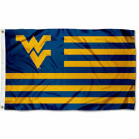 West Virginia Mountaineers WVU Flag for Alumni Nation