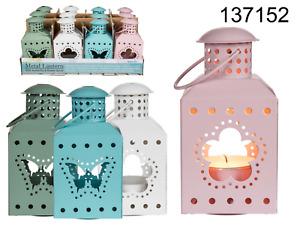 Metal coloured Lanterns x 4