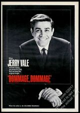 1966 Jerry Vale photo Dommage Dommage record release vintage trade print ad