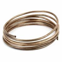 """Congelador 3mm Dia tono de cobre de refrigeración en espiral del tubo 70"""" largo"""