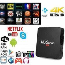 SMART TV BOX ANDROID 10 WIFI 5G 4K FULL HD 4Gb RAM 64Gb ROM WIFI MXQ PRO