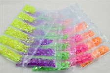 SS6-SS20 Mixed Size Nail Art Rhinestone Neon Color AB Nail Art Accessories