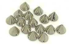 EIMASS® CCB Acrylic Spike Cone Studs, Beads, Sew on, Glue on, Stick on,DIY, 2178