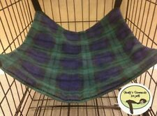 Cosy large hammock ferret,rat,chinchilla,degu. Small Pets Etc.Tartan