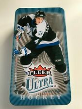 2007-08 UD Upper Deck Fleer Ultra Empty Collector Tin Box VINCENT LECAVALIER
