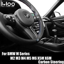 Carbon Fiber Steering Wheel Trim Cover For BMW F80 M3 F82 M4 F10 M5 M6 X5M X6M