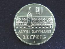 DDR.  5 Mark, 1984 A, Altes Rathaus Leipzig, Cu/Ni/Zn.! orig.! St.!