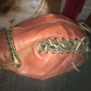 "RARE! vintage earl torgeson ""The Snatcher"" model baseball glove. OK Mfg. # 861"