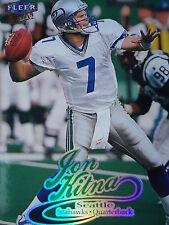 NFL 91 Jon Kitna Seattle Seahawks Fleer Ultra 1999