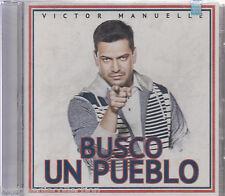 SEALED - Victor Manuelle CD Busco Un Pueblo INCLUDES 15 Tracks BRAND NEW