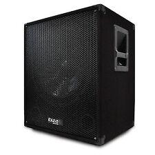Ibiza Subwoofer System Audio DJ PA Amplified 38cm Amplifier 800w Flange