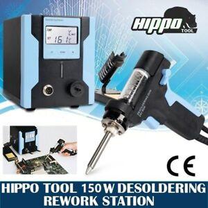 150W Digital Desoldering Rework Iron Station Dual LCD De Soldering Gun